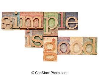 semplicità, buono, blocchi, letterpress, semplice, vendemmia, -, -i, solated, inchiostri, macchiato, concetto, testo, stampa, legno, colorare