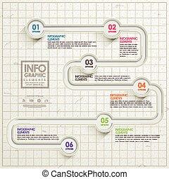 semplicità, sagoma, infographic, disegno