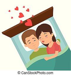sempre, amore, coppia, insieme, icona