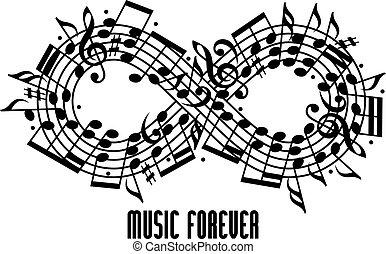sempre, musica, concept.
