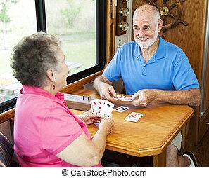 seniors, gioco scheda, -, rv