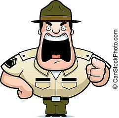 sergente, trapano
