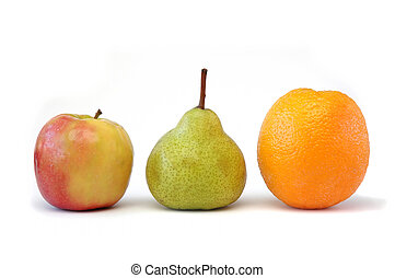 serie, 2, frutta