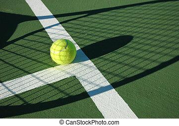 serie, 3, tennis