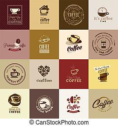 serie caffè, icone