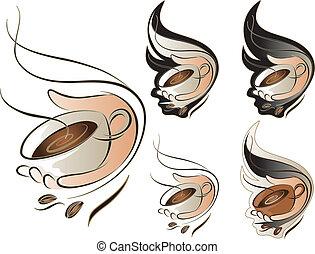 serie caffè, segno