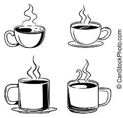serie caffè, simbolo, collezione