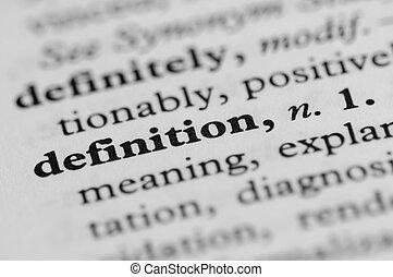 serie, -, dizionario, definizione
