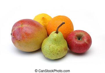 serie, frutta, 4
