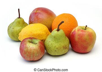 serie, frutta, 5
