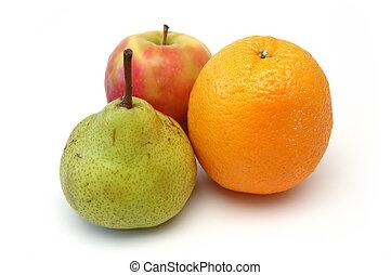 serie, frutta, 6