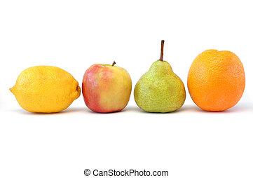 serie, frutta