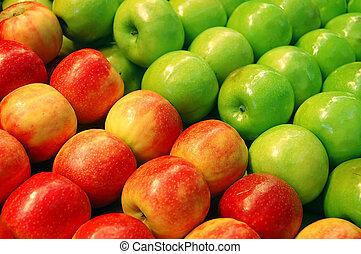 serie, frutte