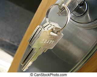 serratura, chiave porta
