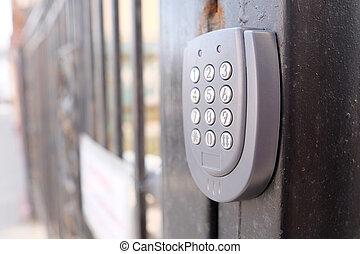 serratura, sicurezza, appartamento