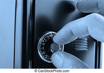 serratura, sicurezza