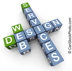 servizi, cruciverba, disegno, web