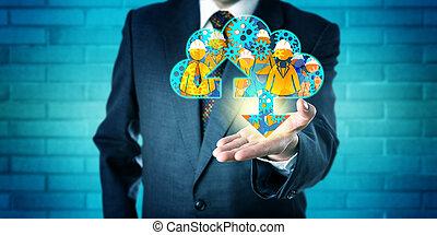 servizi, esecutivo, amministrato, nuvola, offerta