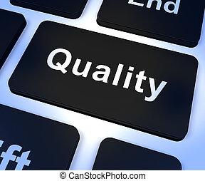 servizio, qualità, prodotti, chiave, eccellente, rappresentare, o