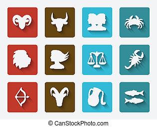set, astrologico, segni