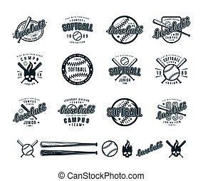 set, baseball, tesserati magnetici, softball