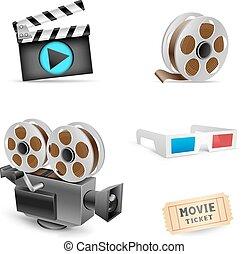 set, cinema