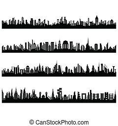 set, cityscape
