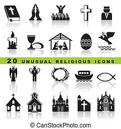 set, cristiano, icone