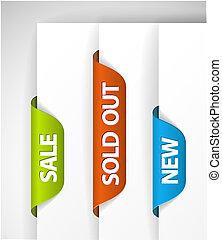 set, eshop, nuovo, etichette, articoli, venduto, vendita, fuori