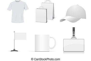 set, identità aziendale