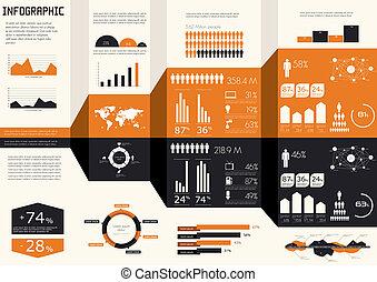 set., infographics, dettaglio