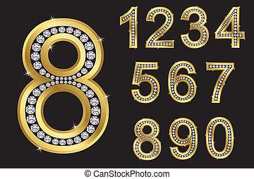 set, numero