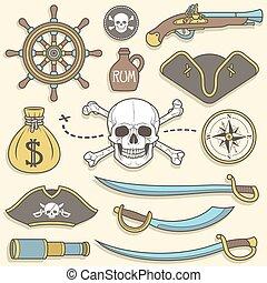 set, pirati