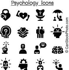 set, psicologia, icona