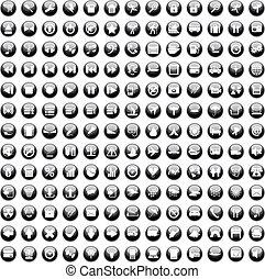 set170, 170, icone, set