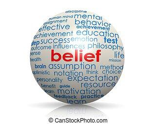 sfera, credenza