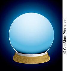 sfera cristallo, cassiere fortuna