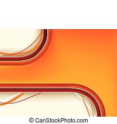 sfondo arancia, copyspace, rosso