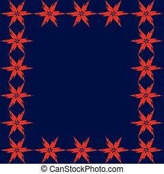 sfondo blu, rosso, stelle