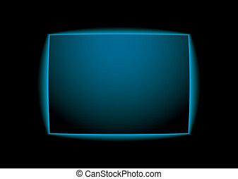 sfondo blu, splendore