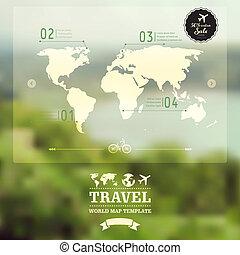 sfondo., corporativo, blurry, natura, naturale, identity., mobile, paesaggio., fondo., mappa, vettore, concept., interfaccia, sito web, godere, sfocato, design., web, viaggiare, template.