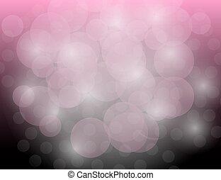 sfondo rosa, astratto, sfavillante, stelle, vacanza