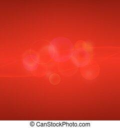 sfondo rosso, light., astratto
