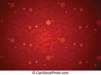 sfondo rosso, struttura, natale