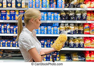 shopping donna, supermercato