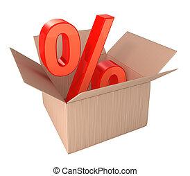shopping, percento, scontare