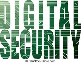 sicurezza, digitale