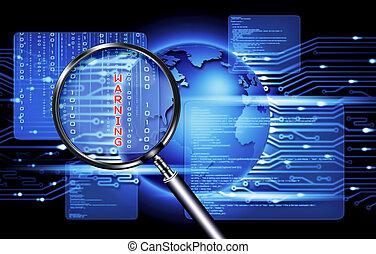 sicurezza, tecnologia informatica