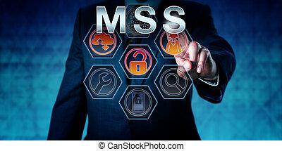 sicurezza, toccante, mss, esso, esperto