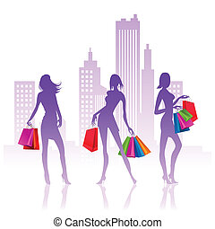 signore, shopping